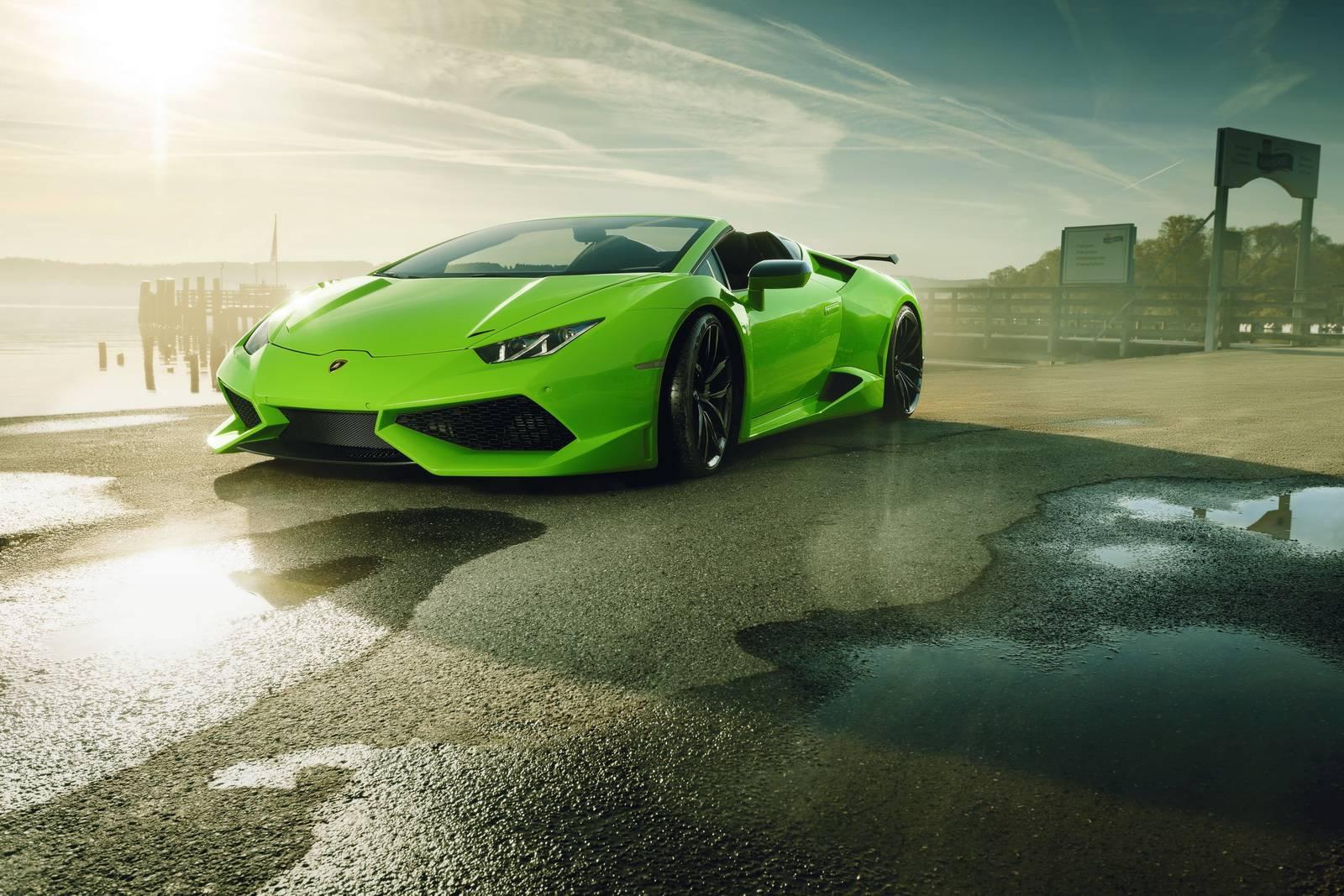 Official: Novitec N-Largo Lamborghini Huracan Spyder