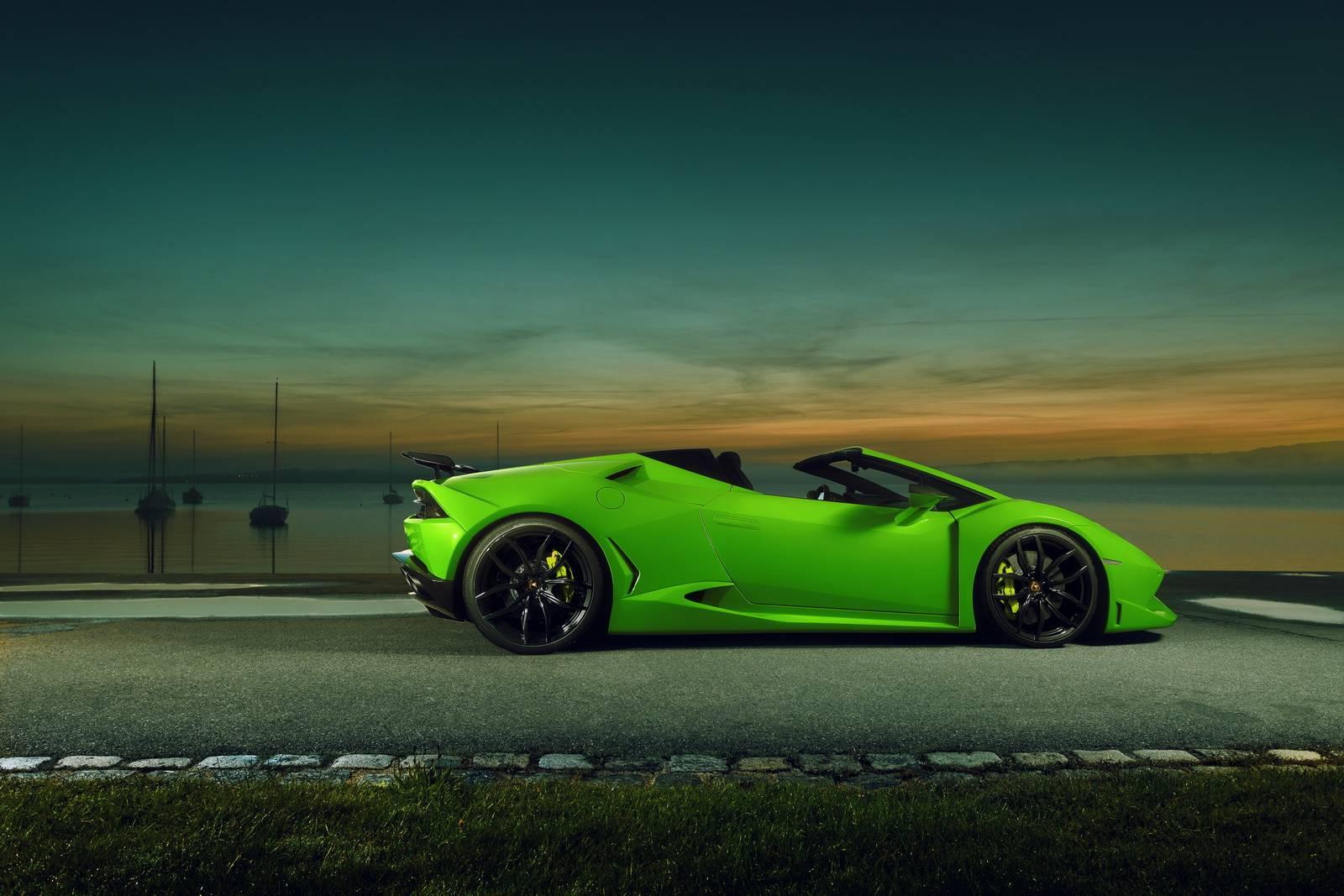 Official Novitec N Largo Lamborghini Huracan Spyder Gtspirit