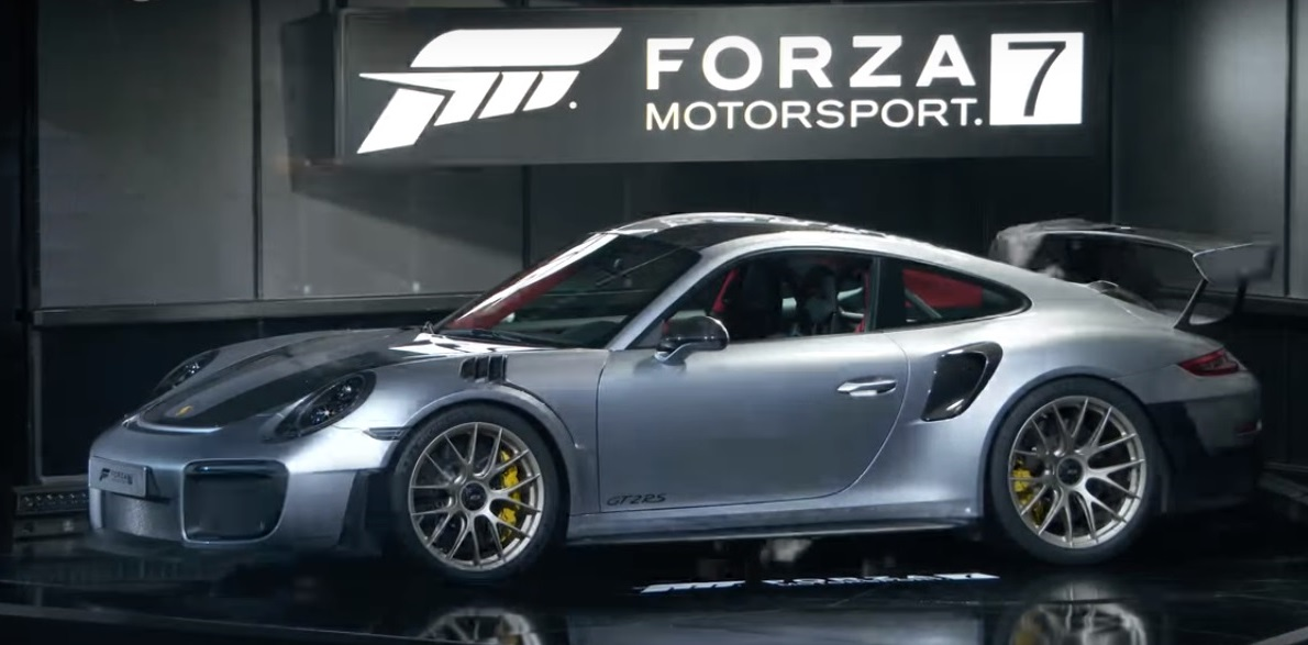 2018 porsche 911 gt2 rs revealed live at e3 2017 gtspirit. Black Bedroom Furniture Sets. Home Design Ideas
