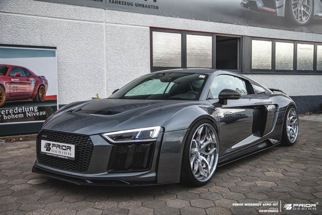 official prior design audi r8 v10 widebody gtspirit. Black Bedroom Furniture Sets. Home Design Ideas