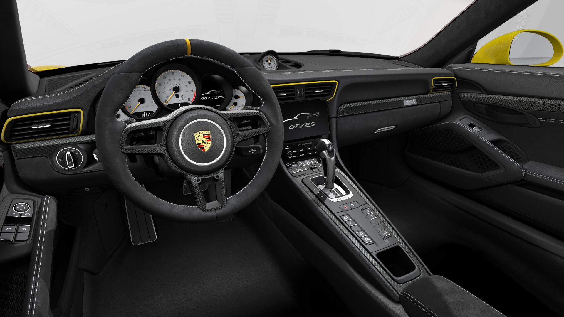 Racing-Yellow-Porsche-911-GT2-RS-5 Wonderful Porsche 911 Gt2 Rs Review Cars Trend
