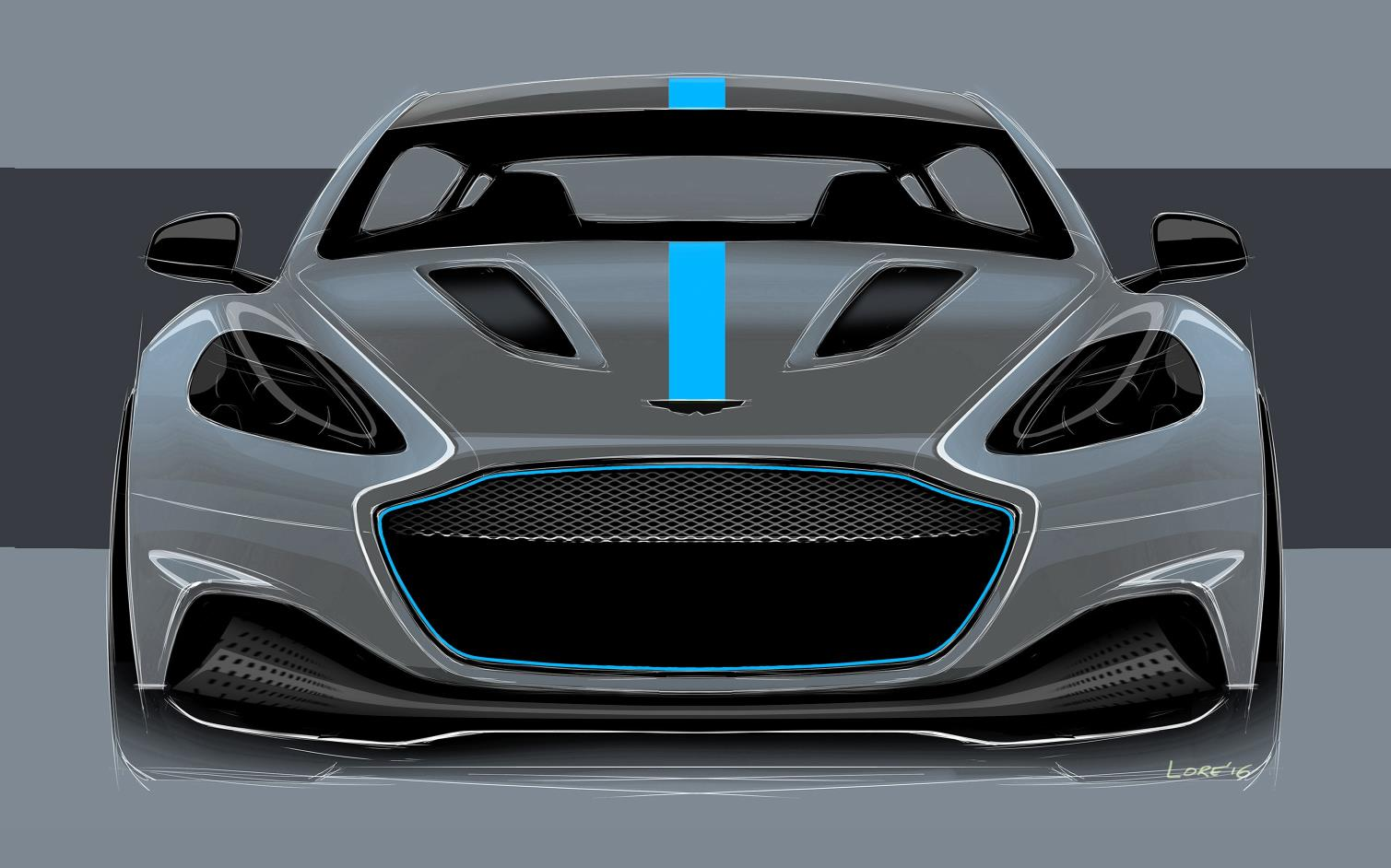 Official: Aston Martin RapidE – All Electric Model