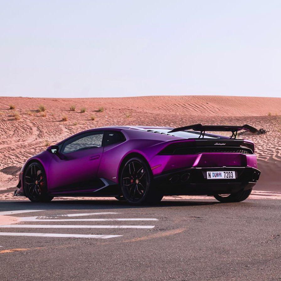 Purple Revozport Lamborghini Huracan Razmig Gtspirit