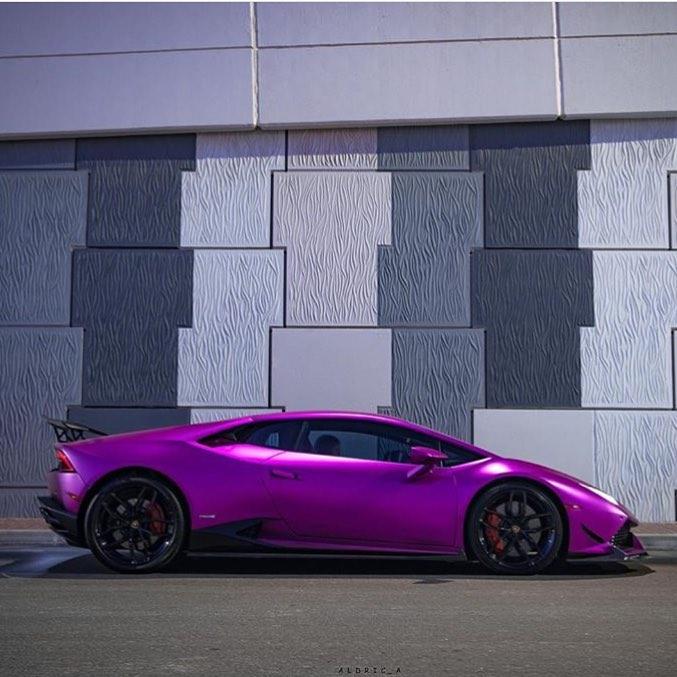 Lamborghini Huracan: Purple Revozport Lamborghini Huracan Razmig