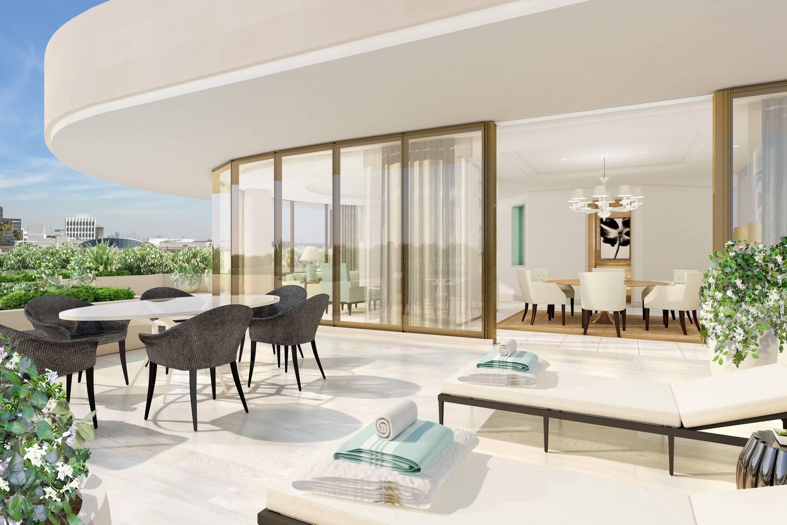 Waldorf astoria beverly hills opens gtspirit for 5 star restaurant exterior