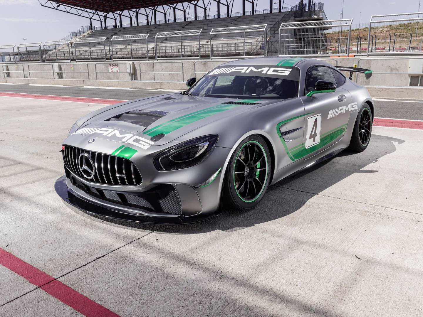 Race Like Never Before With The Mercedes-AMG GT4