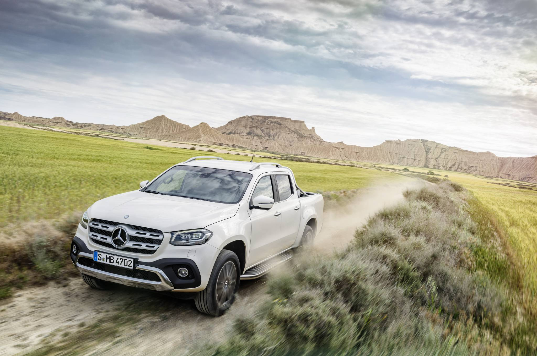 2018 mercedes benz x class first impression gtspirit for Mercedes benz 07
