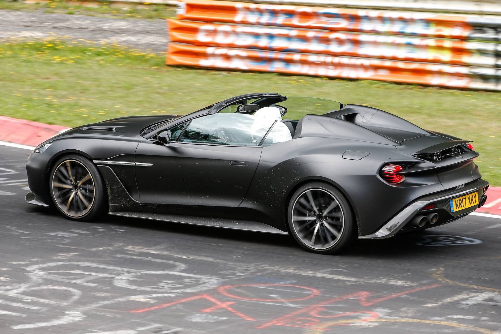 Of Zagato Aston Martin Vanquish Speedster Seen For The First
