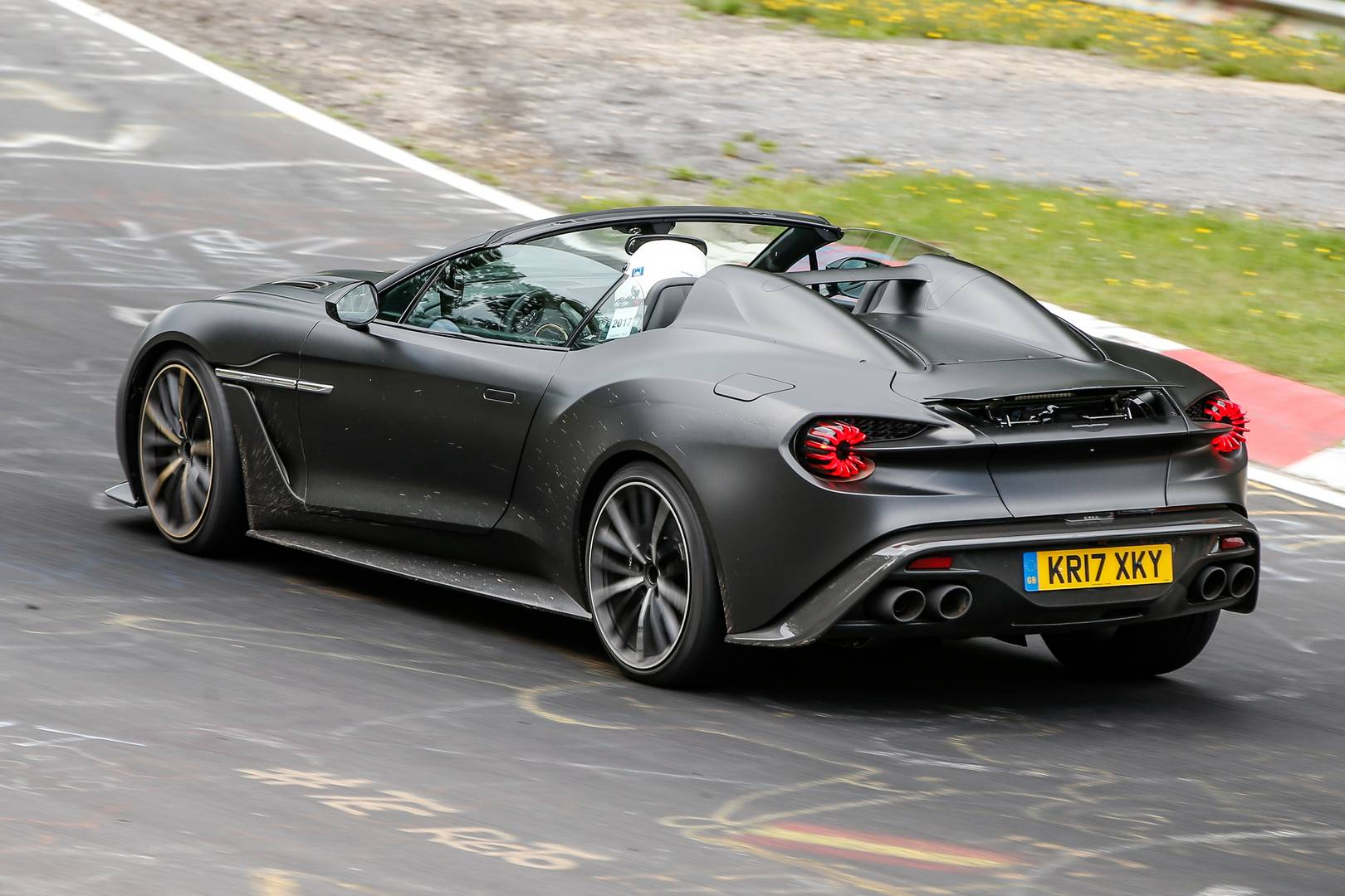 1 of 28 zagato aston martin vanquish speedster seen for the first