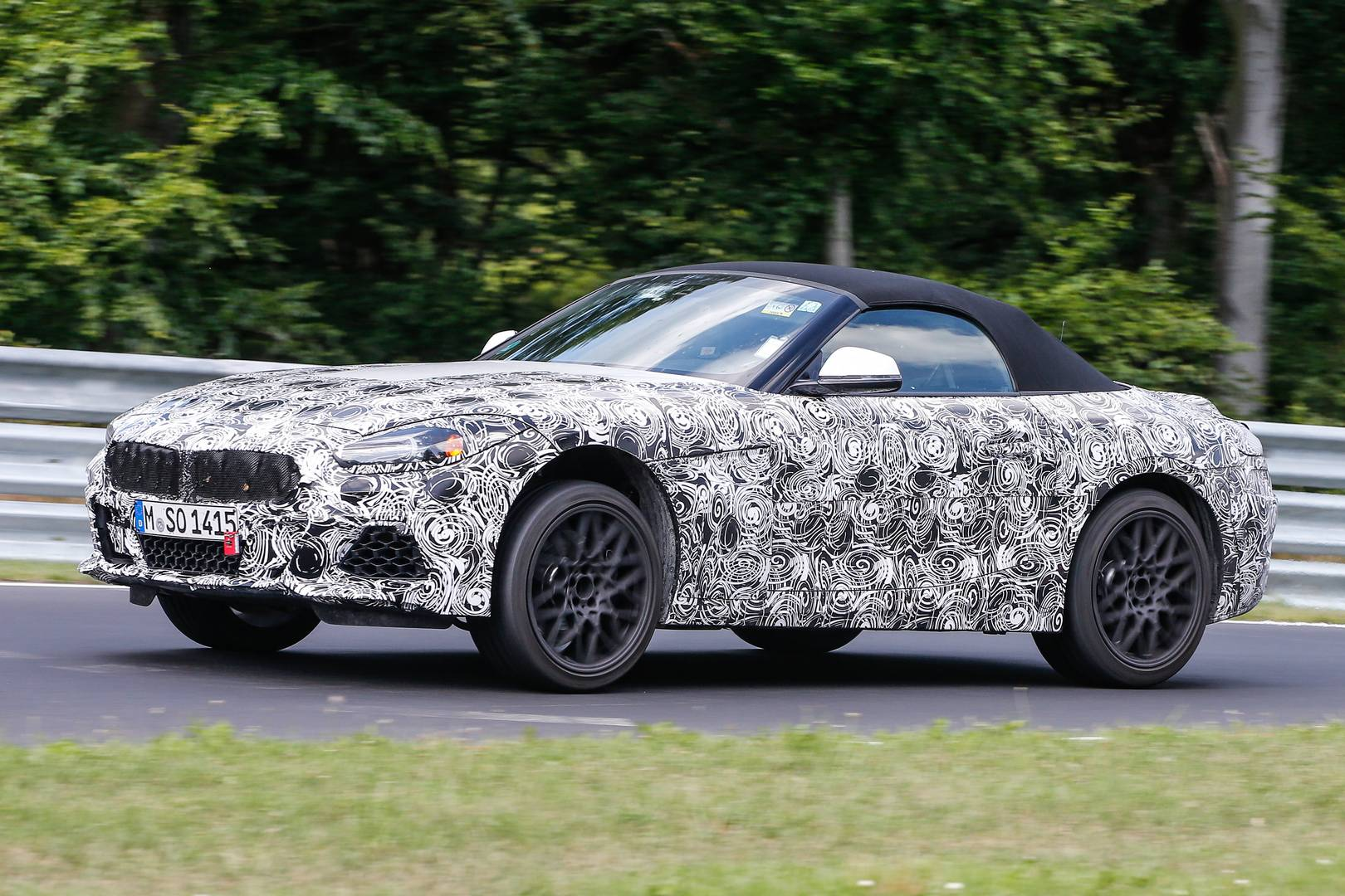 2018 Bmw Z5 M40i First Spy Shots At The Nurburgring Gtspirit