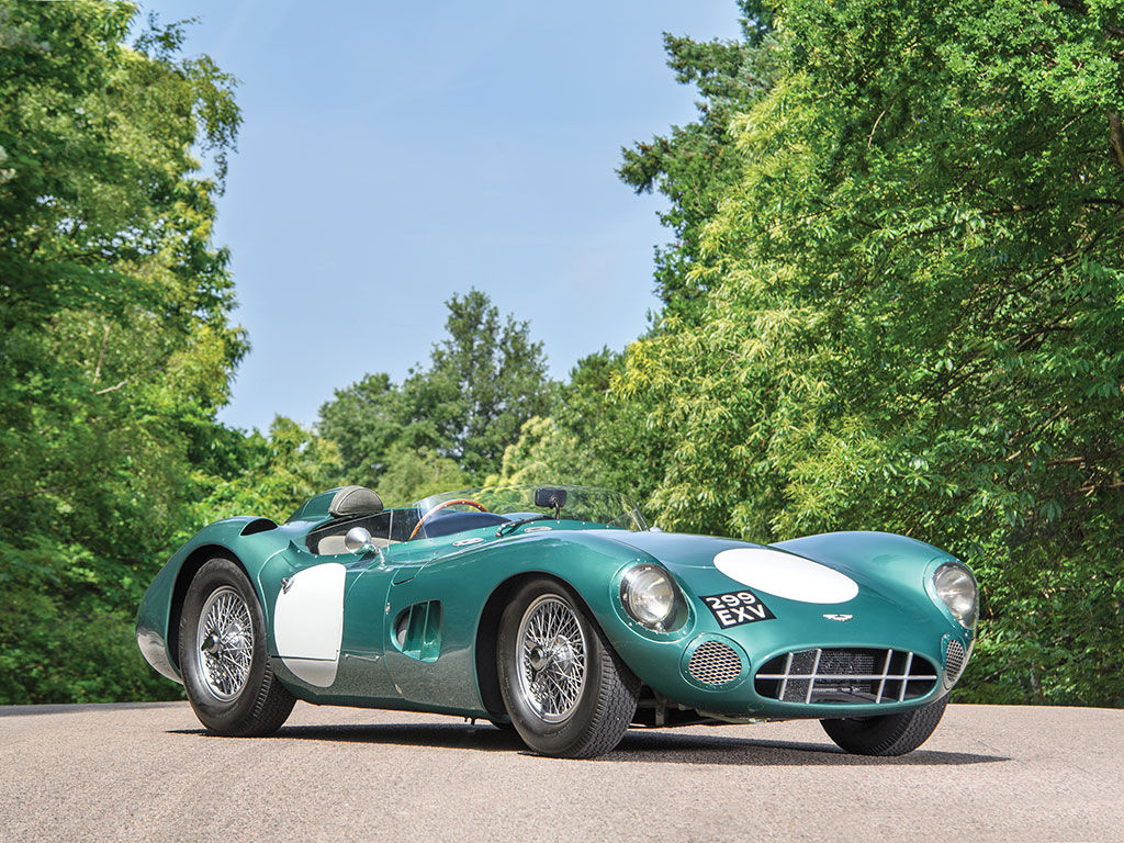 Rare Aston Martin sports auto sells for record-setting $22.5 million