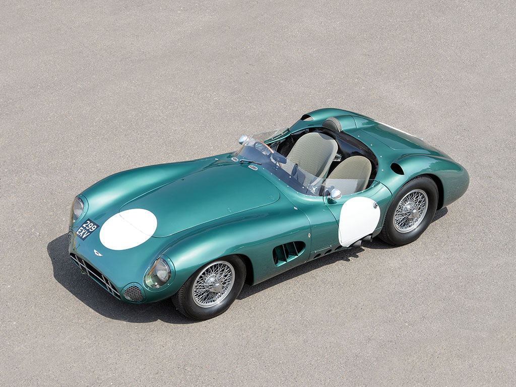 Classic Aston Martin DBR1 sets auction record at Monterey event