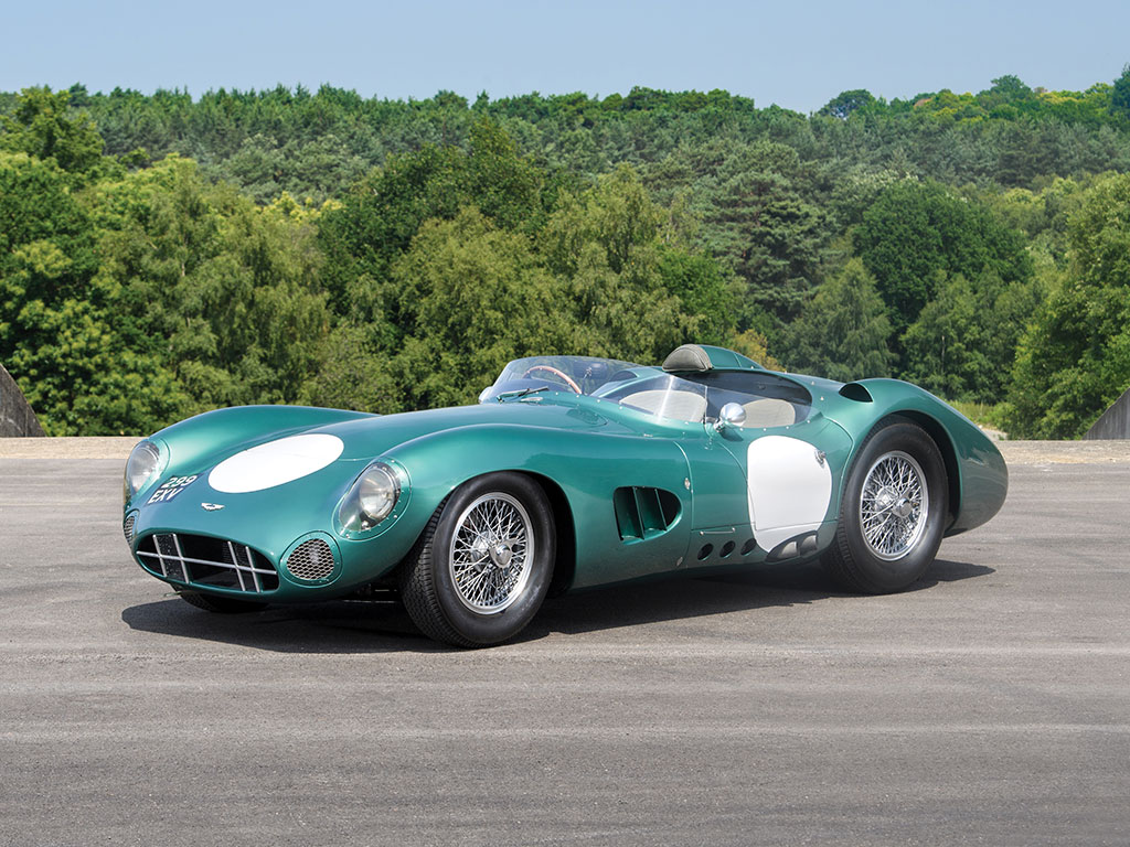 Aston Martin DBR1 sells for £17.5 MILLION