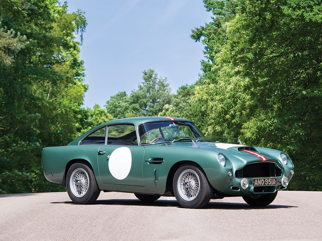 Aston Martin DB4GT Prototype Heads to Auction with $8 Million Est.