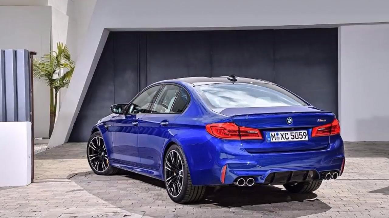 2018 BMW F90 M5 Leaked, Offers 4WD and 2WD Setups - GTspirit