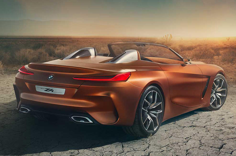 Bmw Z4 Concept Photos Leaked Gtspirit