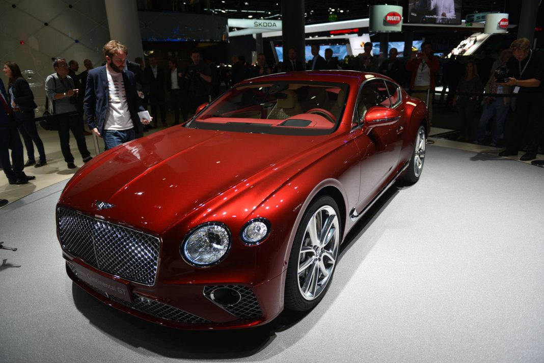 Image result for Bentley Continental GT frankfurt 2017
