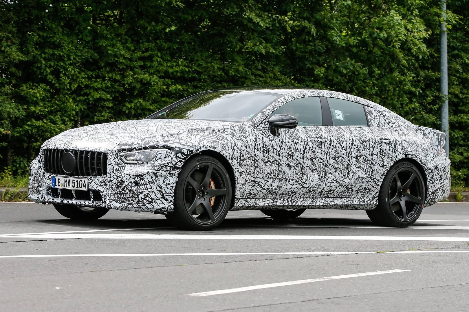 Mercedes-AMG GT 4-Door Latest Spy Shots - GTspirit
