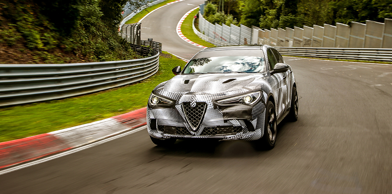 Alfa Romeo Stelvio QV Sets Nurburgring SUV Record