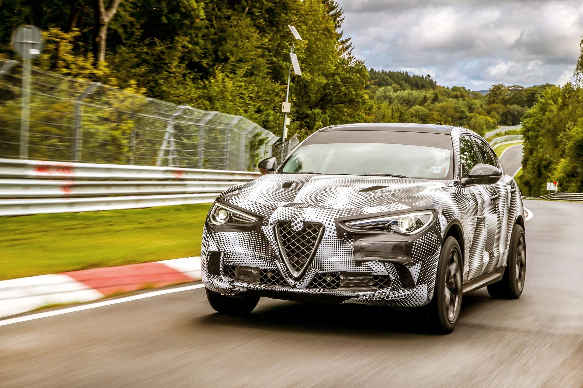 Alfa Romeo Stelvio Qv Sets Nurburgring Suv Record Gtspirit Modifications Unfortunately