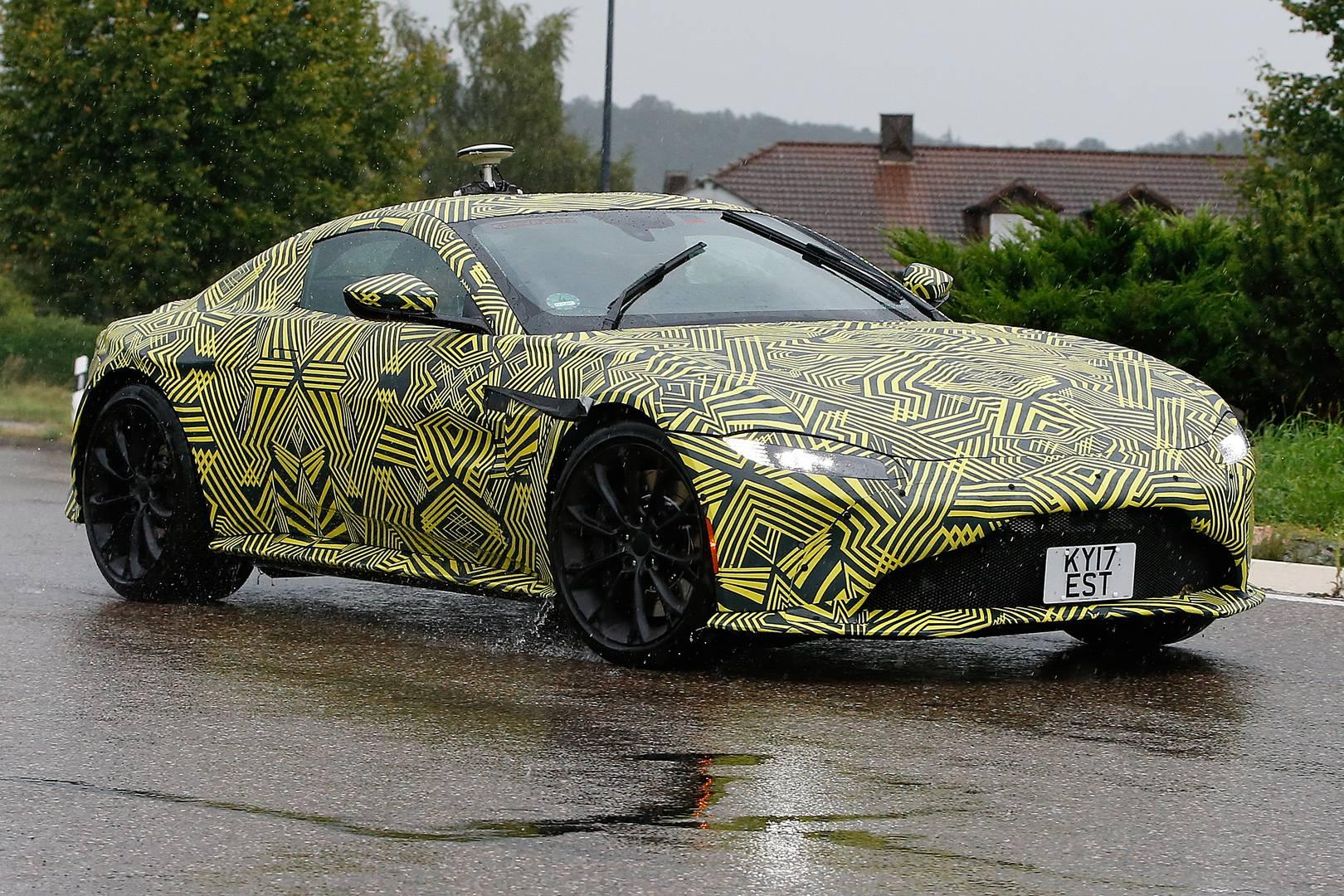 Aston Martin Vantage To Debut On November Possible Leak - 2018 aston martin