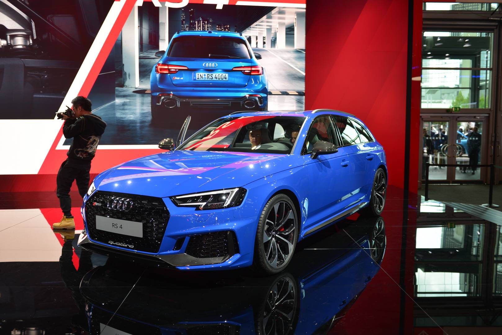 iaa frankfurt 2017 audi rs4 avant gtspirit. Black Bedroom Furniture Sets. Home Design Ideas