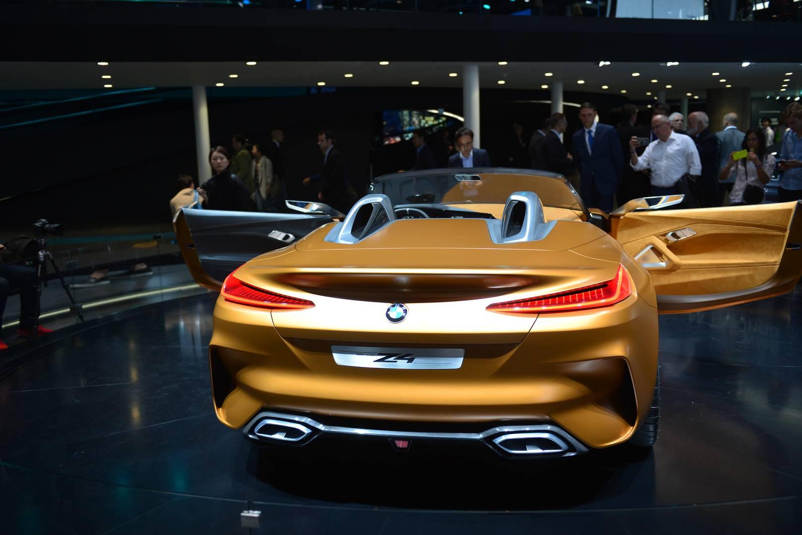 Iaa Frankfurt Bmw Z4 Concept Gtspirit