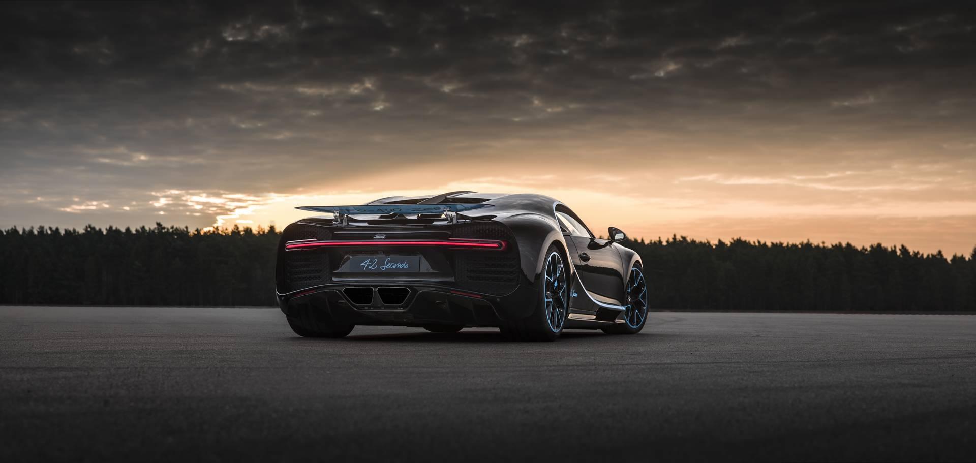 bugatti chiron sets new world record of 0 400km h 0 in w video gtspirit. Black Bedroom Furniture Sets. Home Design Ideas