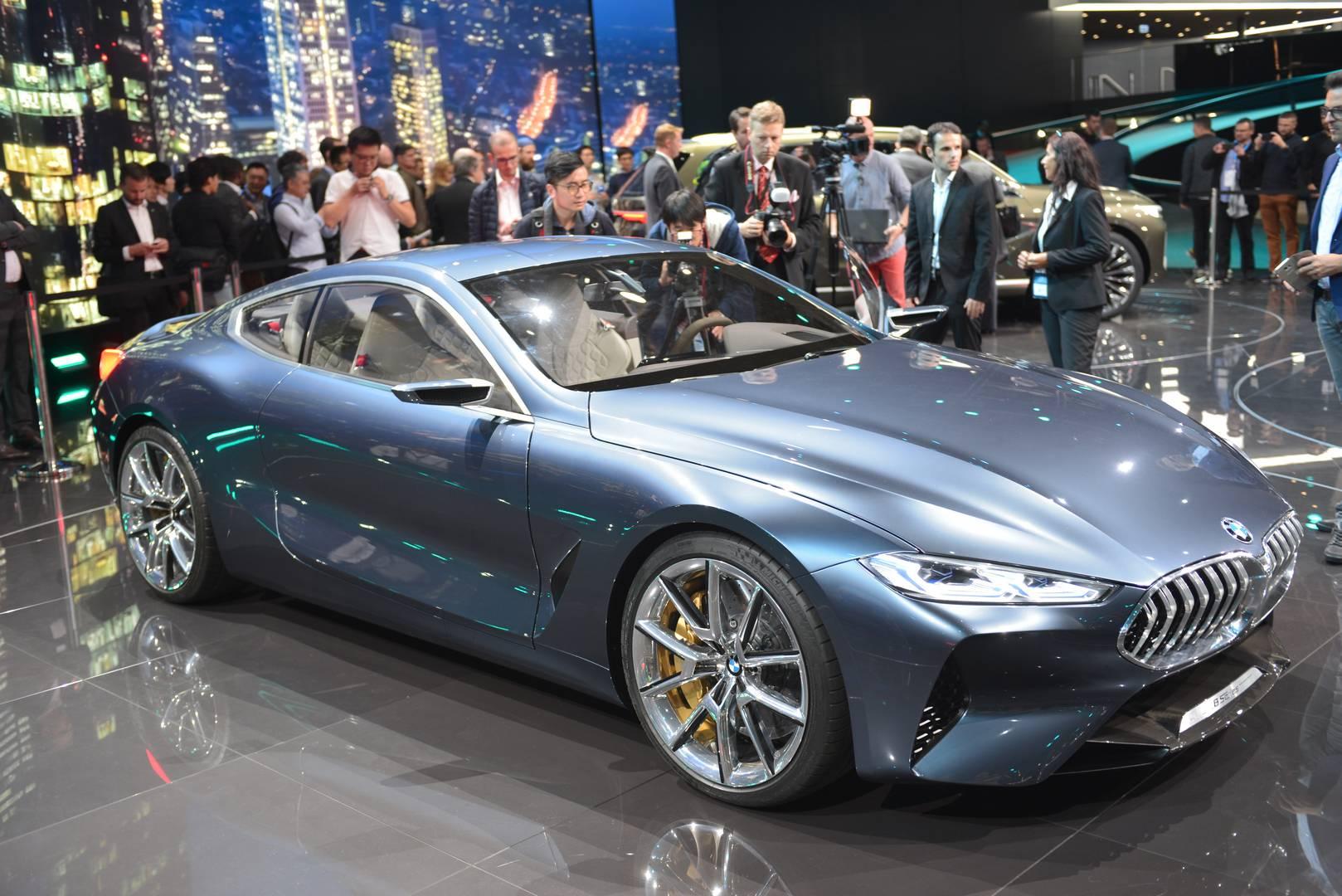 Iaa Frankfurt 2017 Bmw 8 Series Concept Gtspirit