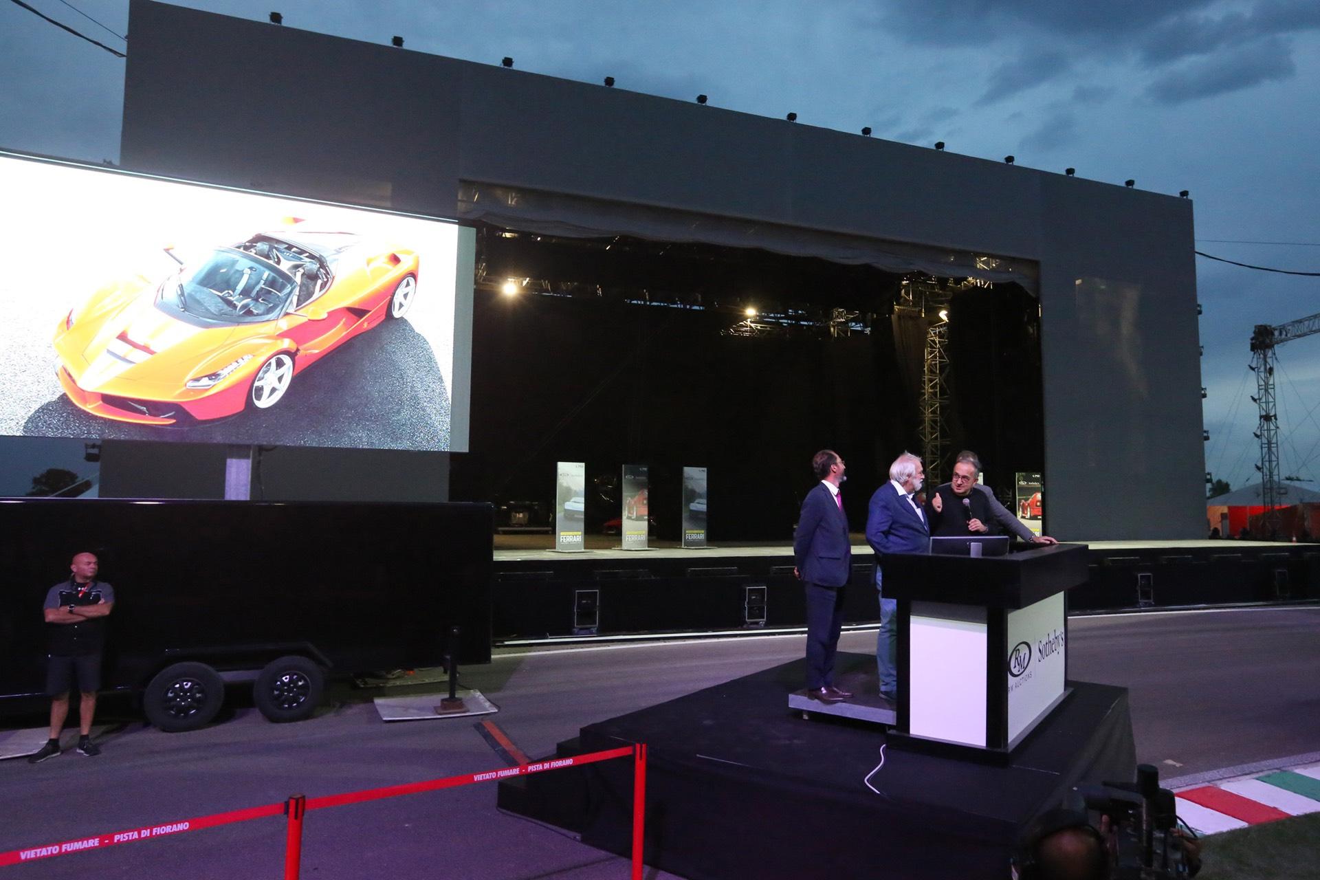 Ferrari fetches $10M at auction