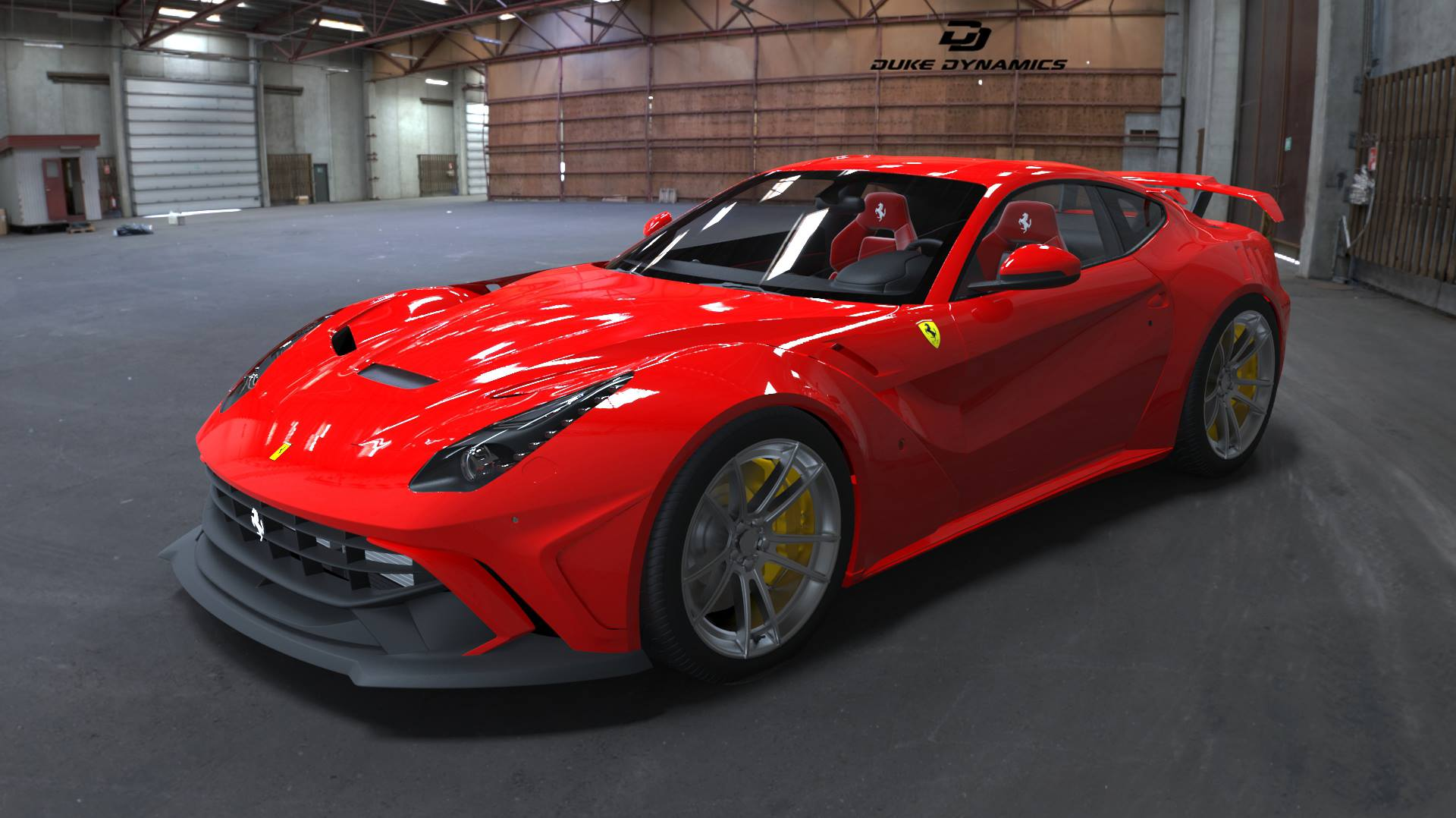 official: ferrari f12 widebodyduke dynamics - gtspirit