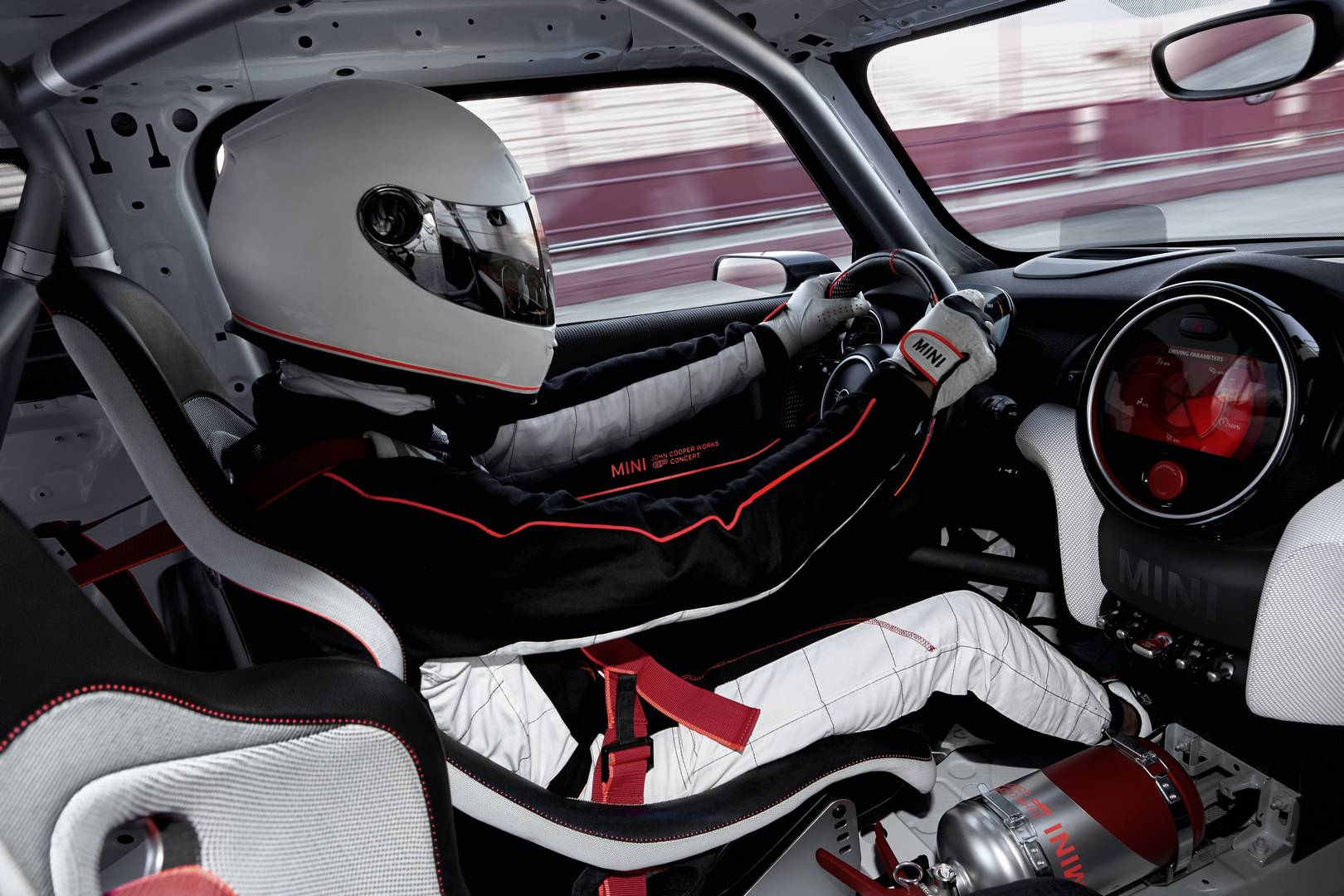 official mini john cooper works gp concept gtspirit. Black Bedroom Furniture Sets. Home Design Ideas