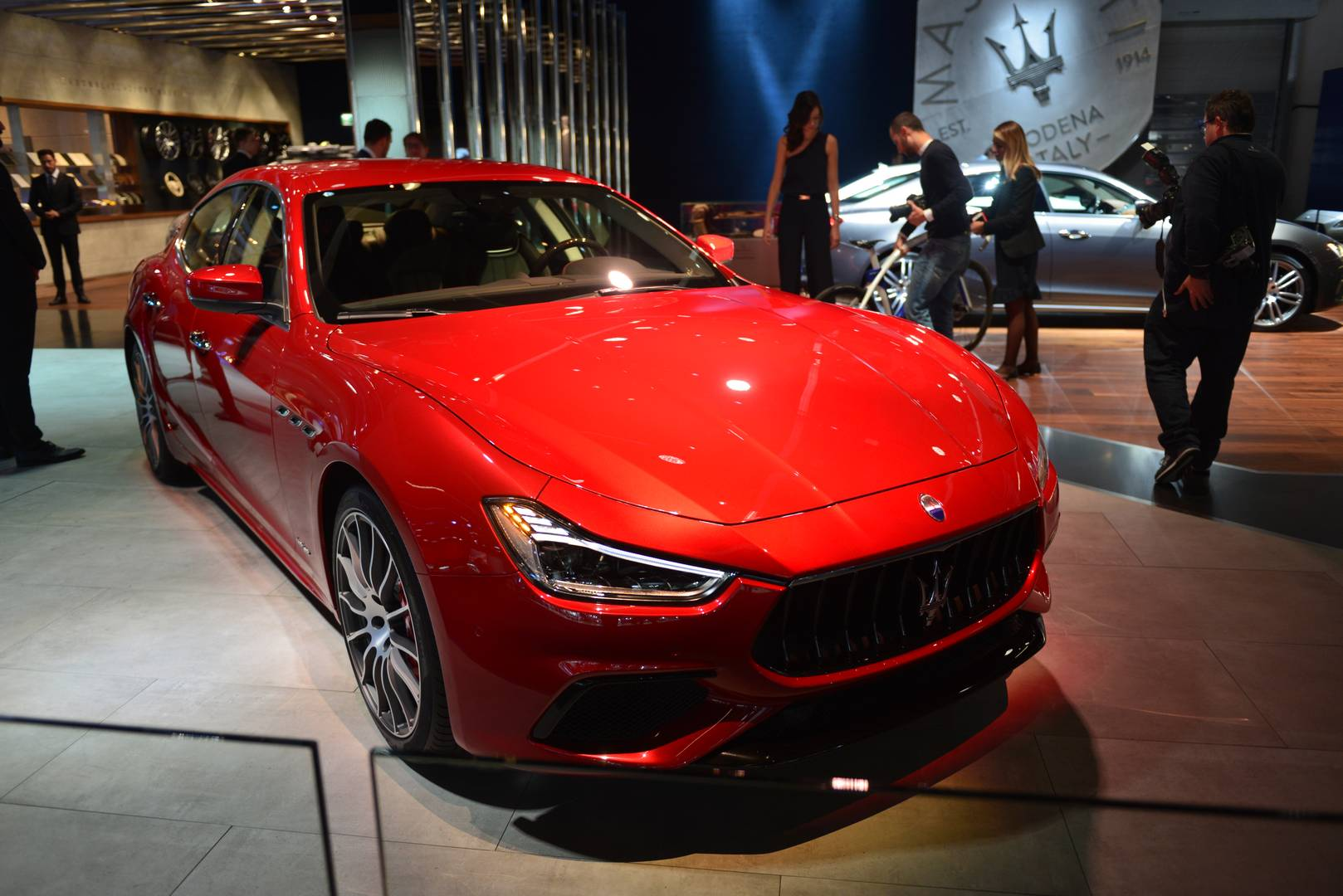 IAA Frankfurt 2017: Maserati Ghibli GranLusso