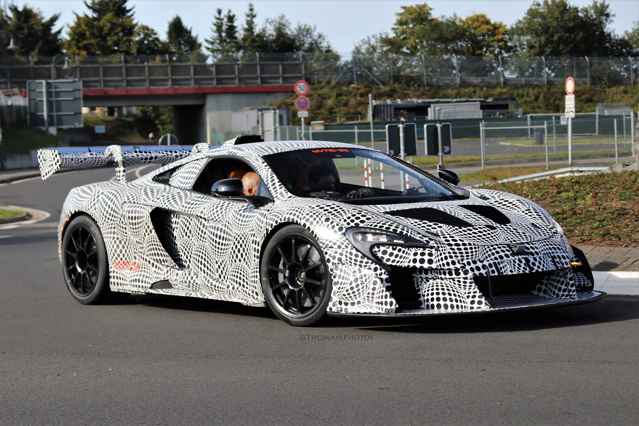 More Hardcore McLaren Prototype Spied Testing at the Nurburgring