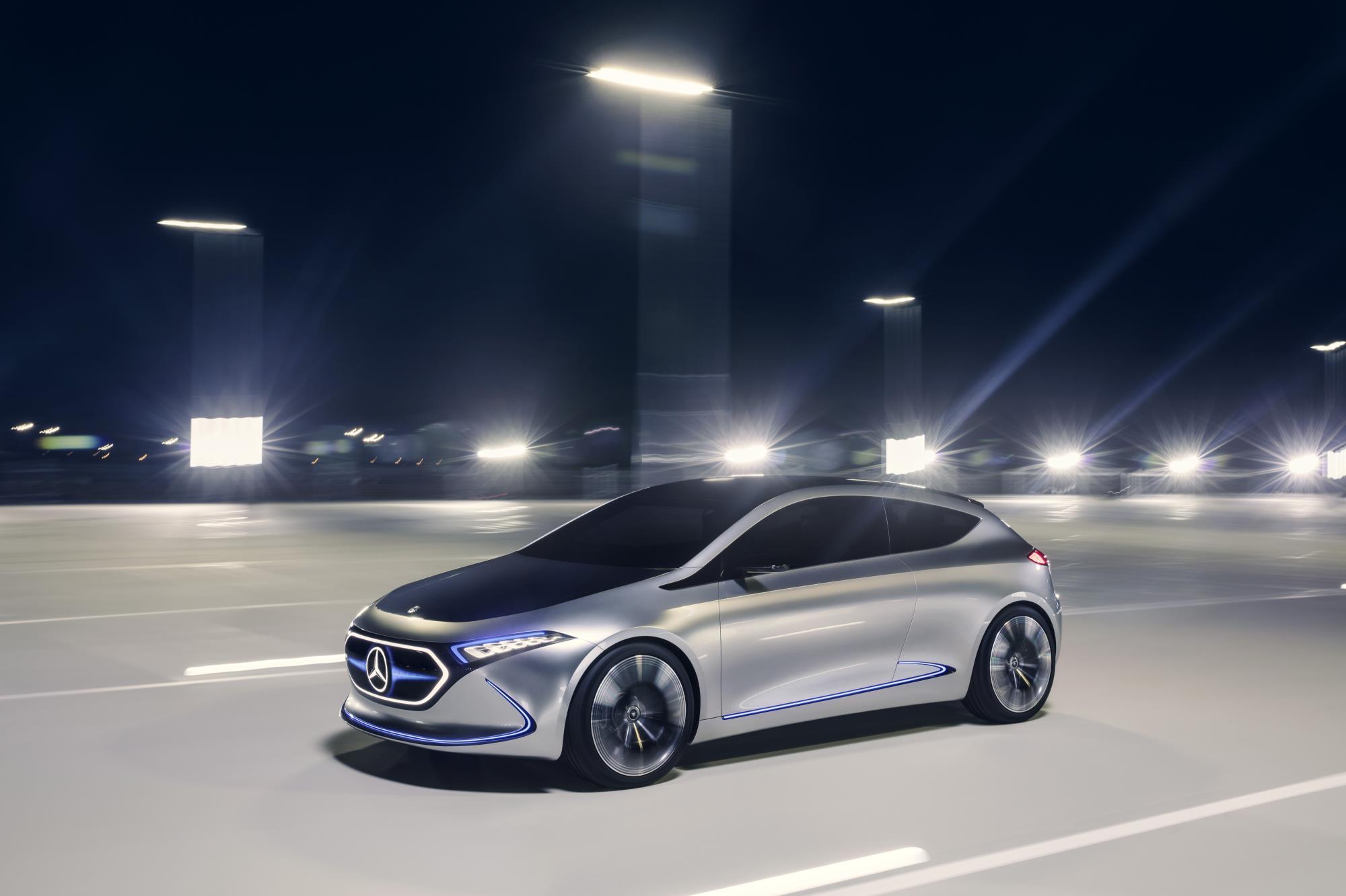Mercedes-Benz previews future small EV with EQA concept