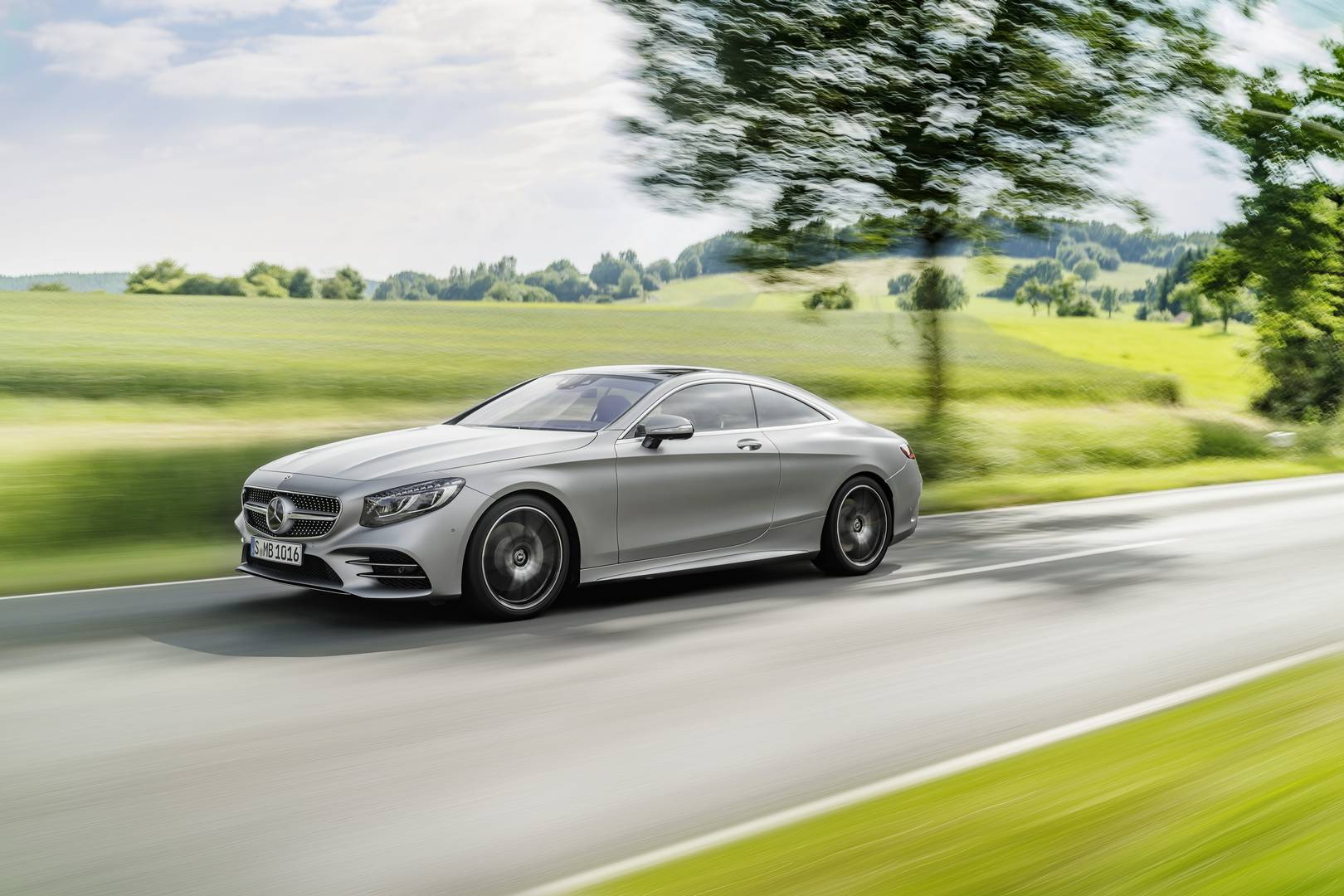 Official 2018 mercedes benz s class coupe and cabriolet for Mercedes benz s class convertible
