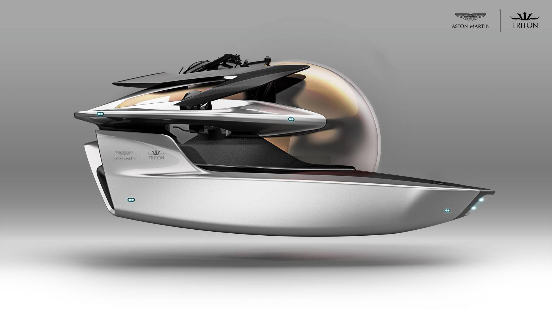 Aston Martin Reveals 4 Million Submarine At Monaco Yacht Show 2017