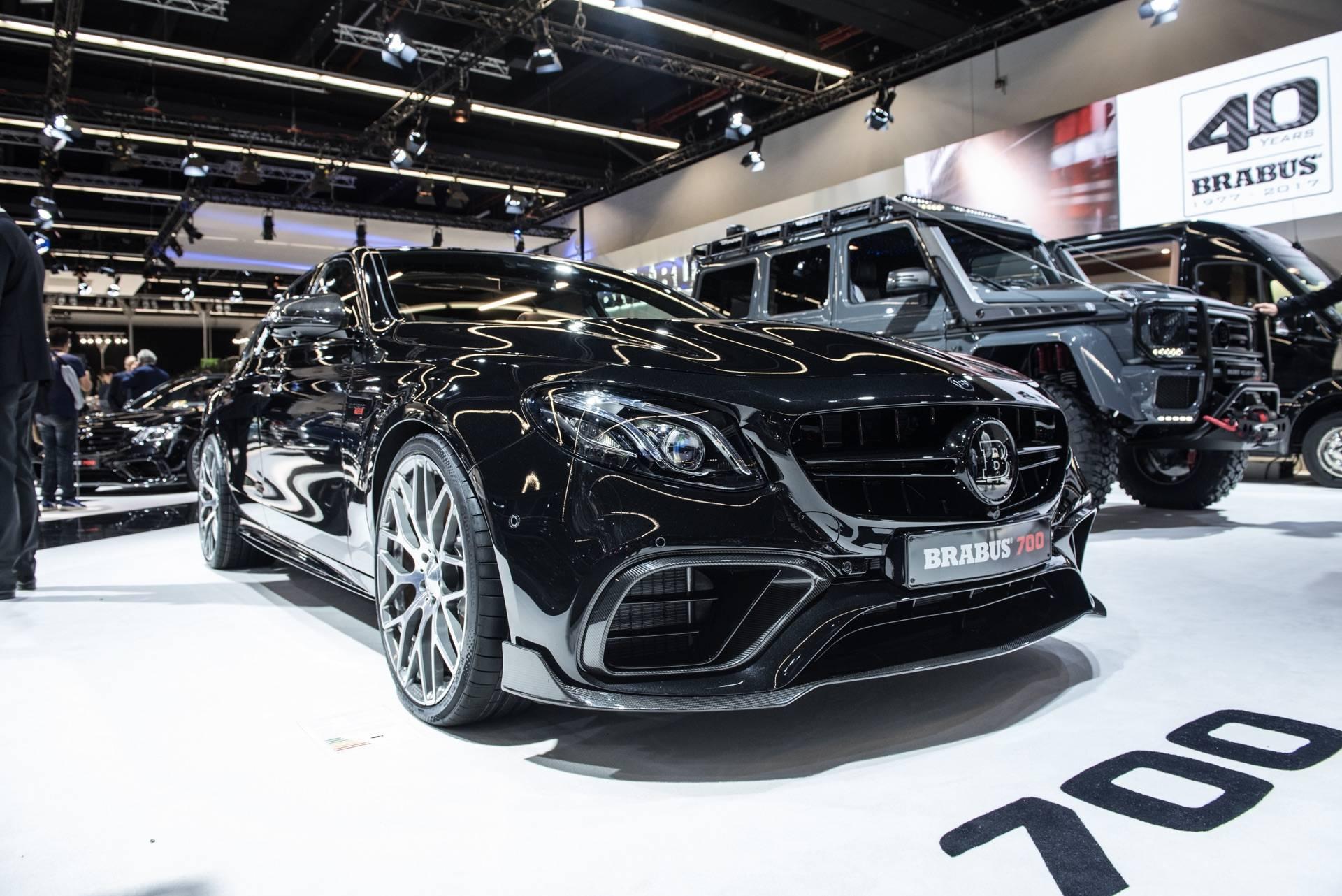 IAA Frankfurt 2017: Brabus 700 Mercedes-AMG E63 - GTspirit
