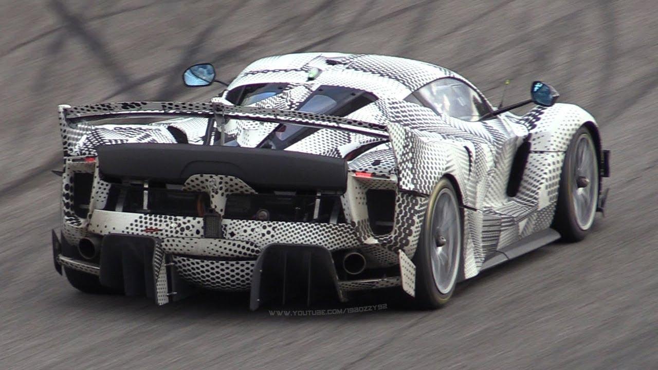 Video: Ferrari FXX K Evoluzione Testing Hard at Monza