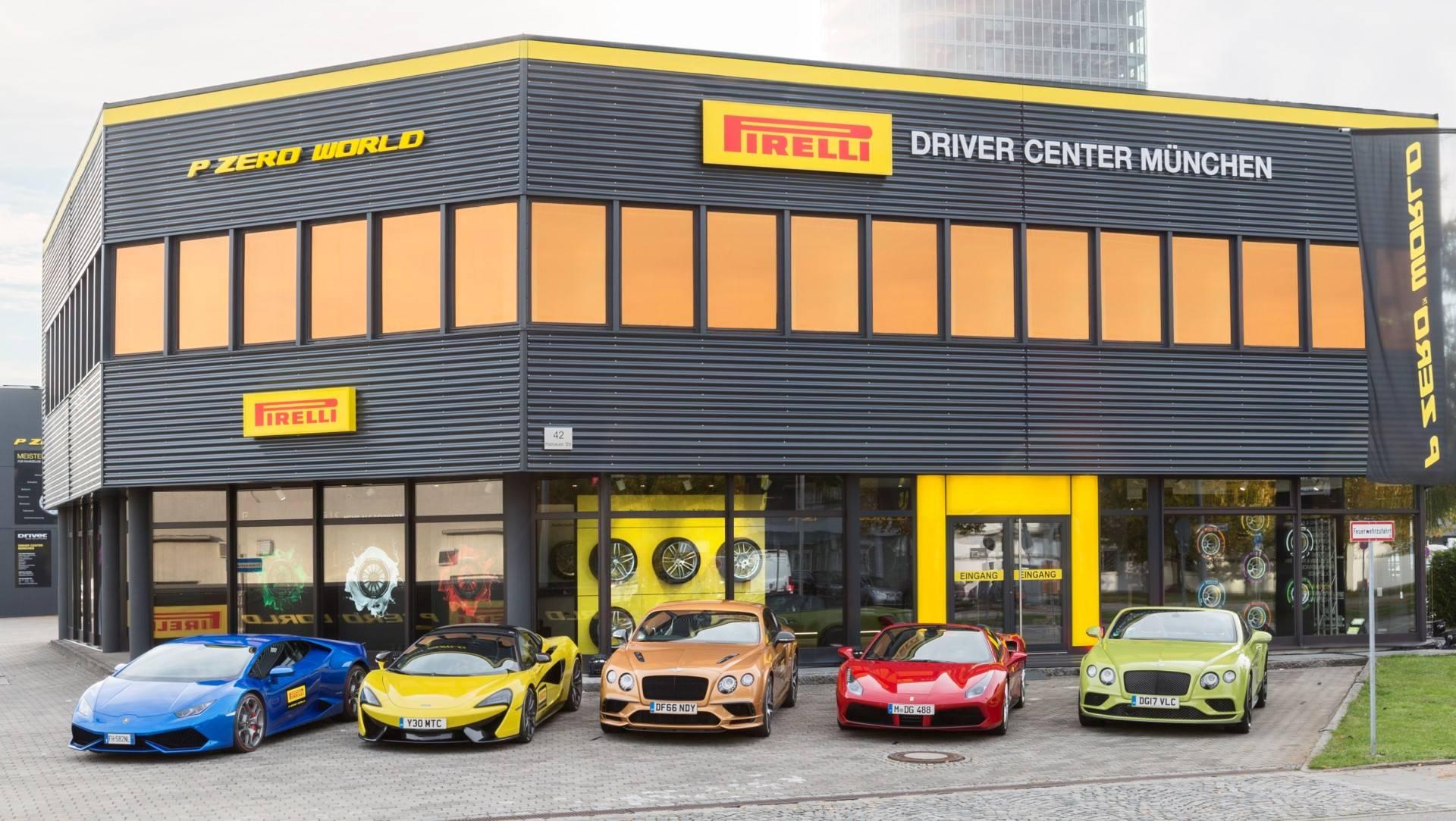 Special Report: Pirelli P Zero World Opens in Munich, Germany