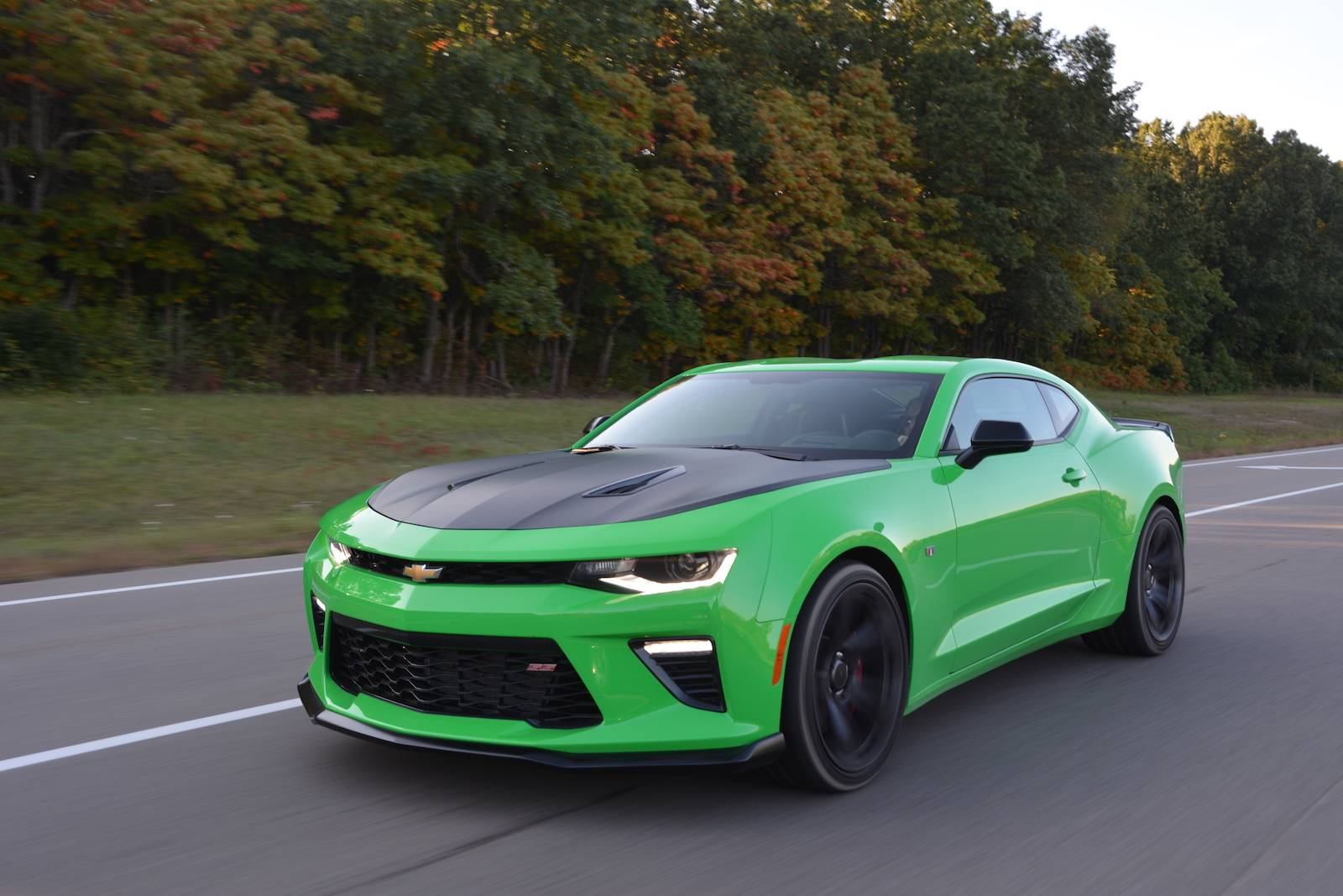2017 Chevrolet Camaro Ss 1le Car News Reviews