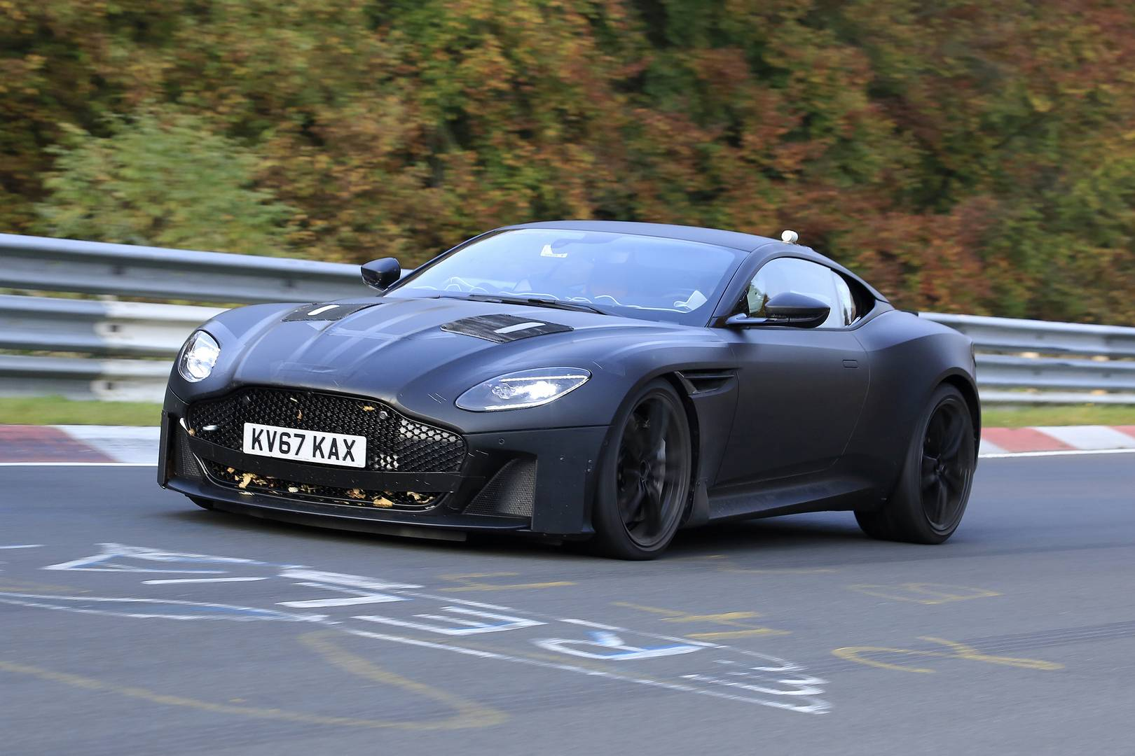 Next Gen Aston Martin Vanquish First Spy Shots Gtspirit