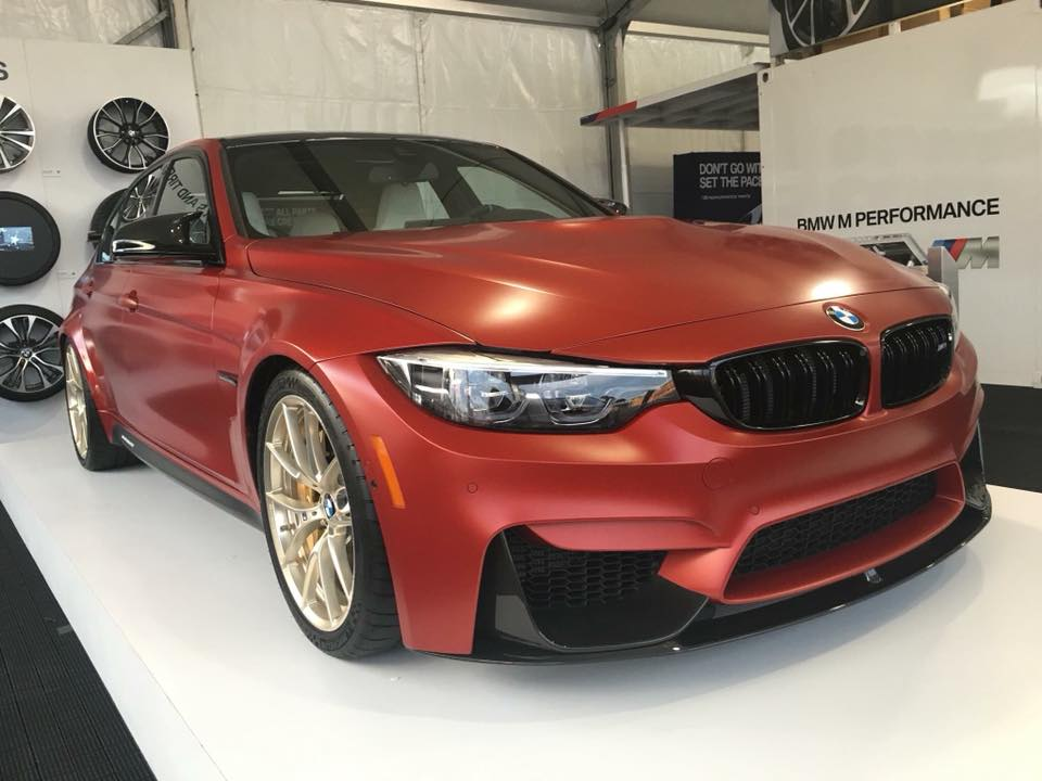 Official: 1 of 1 Frozen Red BMW M3 30 Years American ...