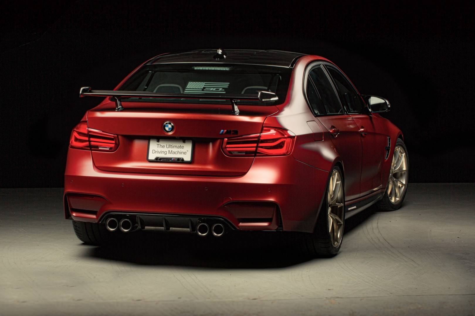 Official 1 Of 1 Frozen Red Bmw M3 30 Years American