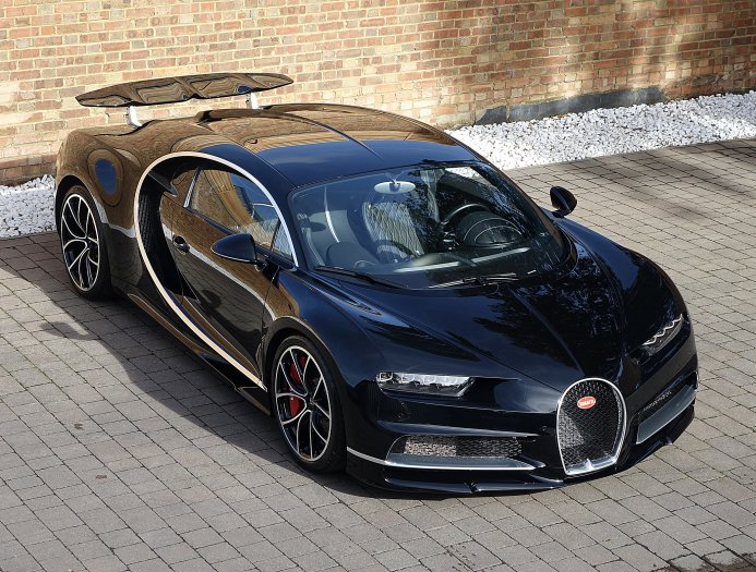 First Bugatti Chiron for Sale in the UK - GTspirit