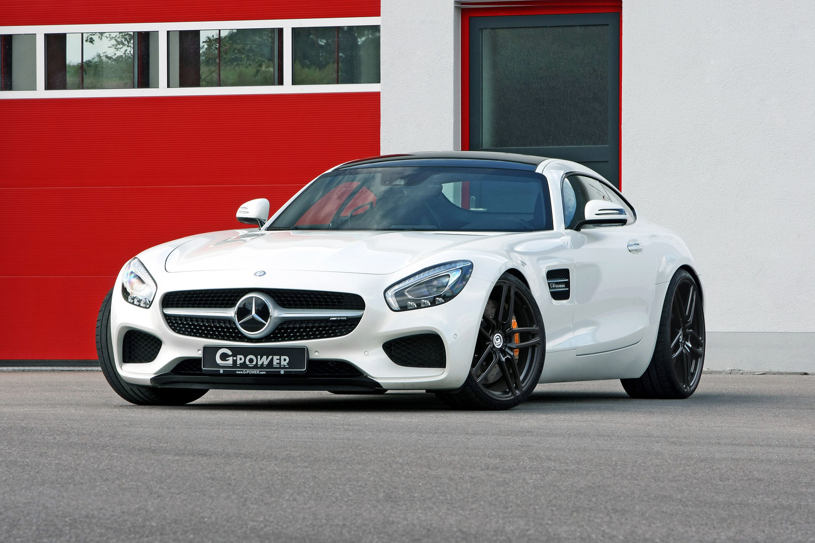 Official: G-Power Mercedes-AMG GT S