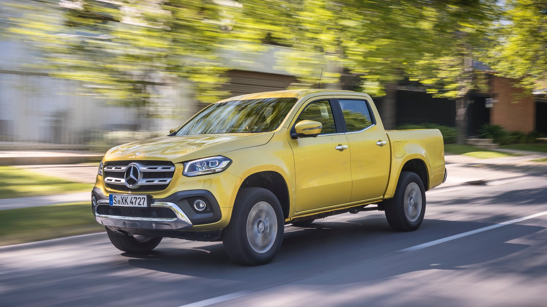 2018 Mercedes Benz X Class Review Gtspirit