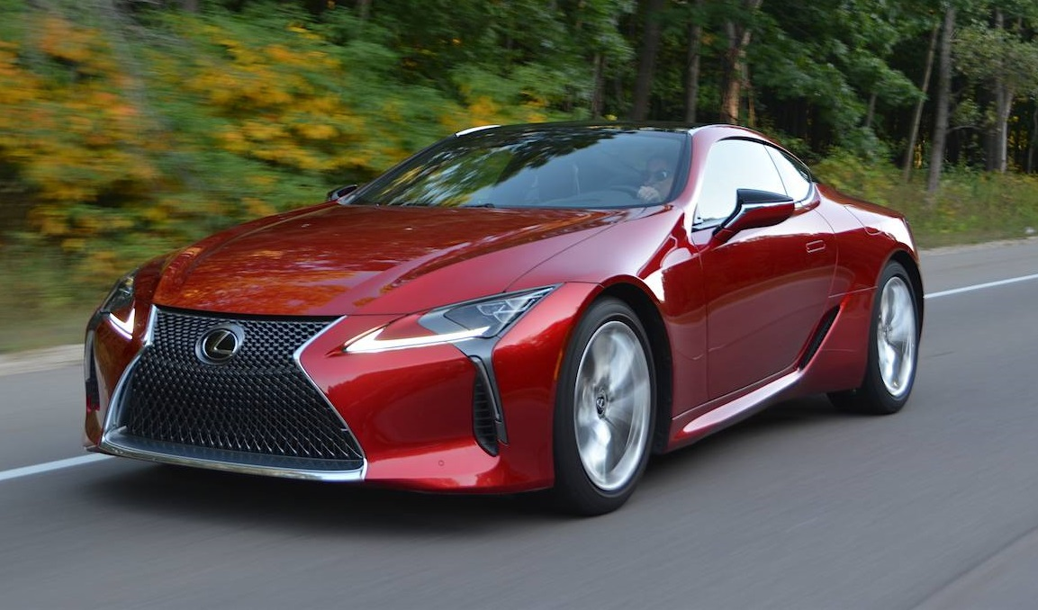 2018 lexus lc 500 review gtspirit. Black Bedroom Furniture Sets. Home Design Ideas