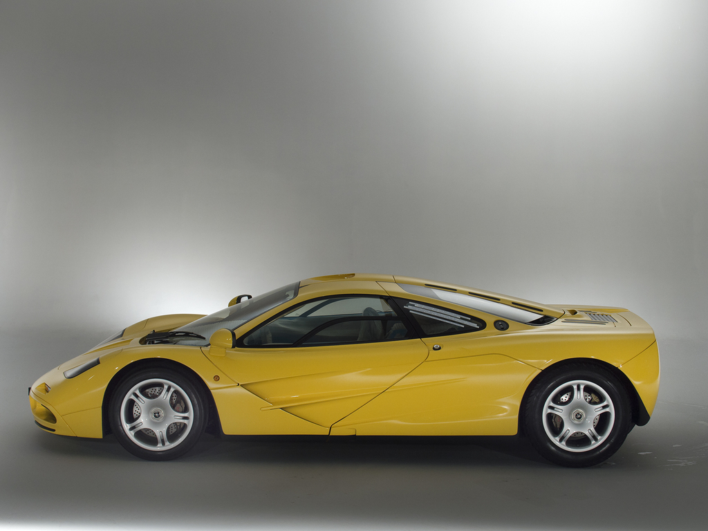 McLaren F1 Up For Sale is Just as Delivered from Factory