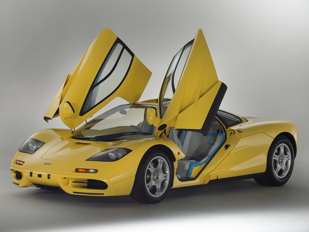 For sale: 1997 McLaren F1 supercar - brand new!